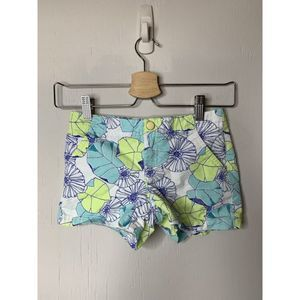 Gymboree Girls Floral Chino Shorts